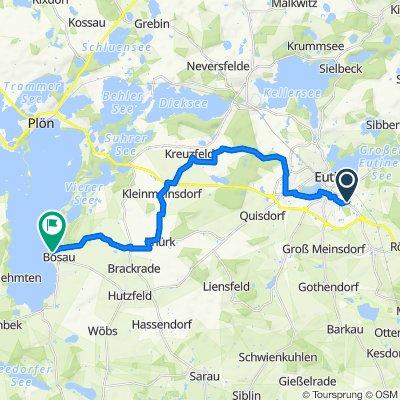 Tag 6 Radtour 2021 erster Abschnitt