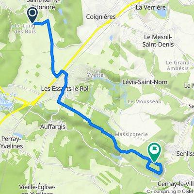 Itinéraire à partir de 3 Chemin de Beauvais, Saint-Rémy-l'Honoré