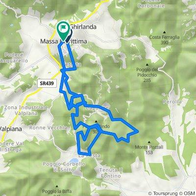 11 - MTB - Cross Country - Blue/Black - La Pesta con Castel di Ruto