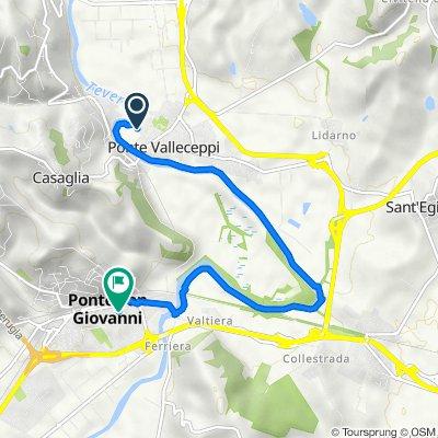 Da Via Isarco 23–29, Perugia a Via Quintina 47A, Ferriera