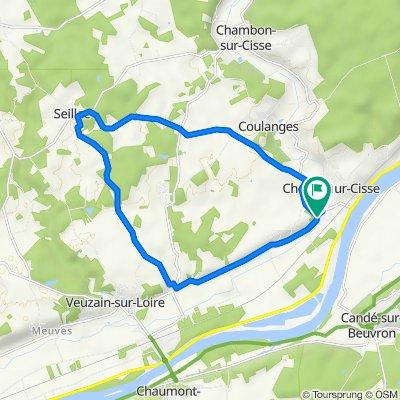 Visite rapide en Chouzy-sur-Cisse