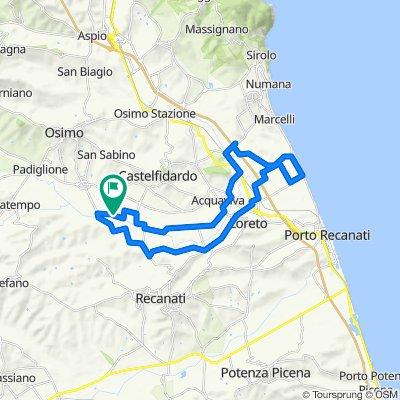 Da Via Albanacci 7, Castelfidardo a Via Albanacci 7, Castelfidardo