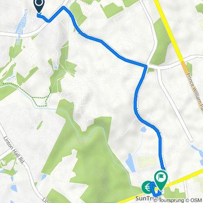 9131 Ribbon Falls Loop, Bristow to 11109 Nokesville Rd, Manassas