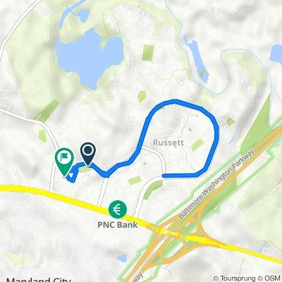 Woodland Hills Way, Laurel to 8602 Hartwood Pl, Laurel
