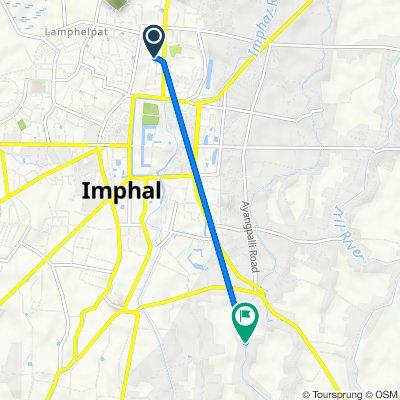 Unnamed Road, Imphal to Kongba - ChongabiLampak Road, Imphal
