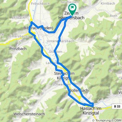 Rundtour, 25 KM