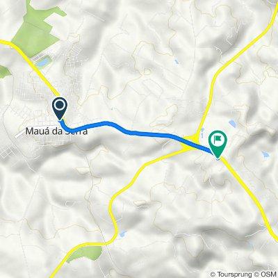 De Avenida Ponta Grossa 850 a BR-376 Km 296