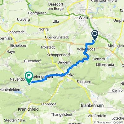 Kastanienallee, Weimar nach Schwedrich 83, Tonndorf