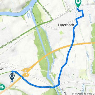 Brunnackerweg 29, Zuchwil nach Grüttbachstrasse 10, Luterbach