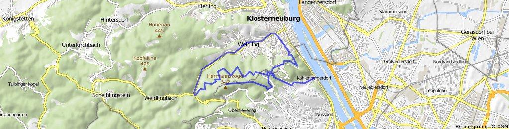 Kahlenberg - Kollersteig - Hermannskogel