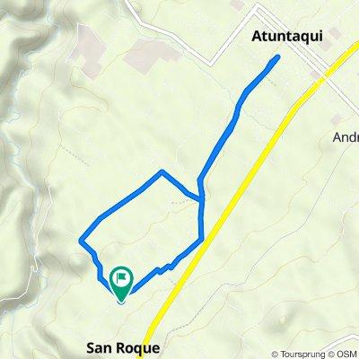 De 16 de agosto, Antonio Ante a 16 de agosto, Antonio Ante