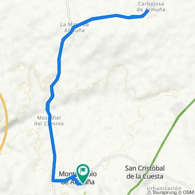 De Avenida Castilla y León 10, Monterrubio de Armuña a Avenida Castilla y León 6, Monterrubio de Armuña