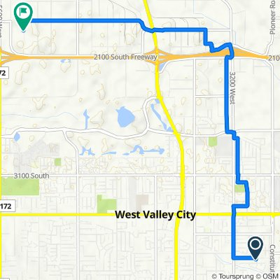 3850 S Redwing St, West Valley City to 1854 S 5350 W, Salt Lake City