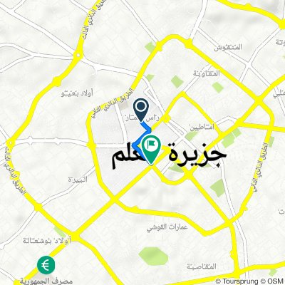 Route to First Ring Road, Misrata