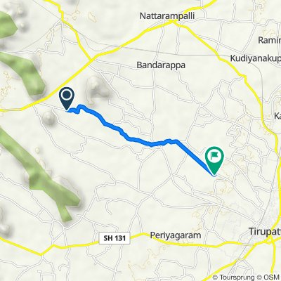 Pudupet Road, Pachoor to Unnamed Road, Mookanur
