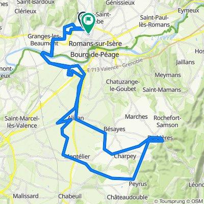 Mours-Saint-Eusèbe Radfahren