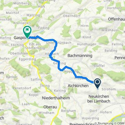 Iming, Neukirchen bei Lambach nach Hauptstraße 14, Gaspoltshofen