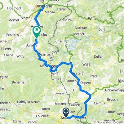 Arlon - Bastogne