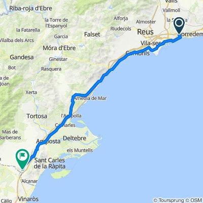 01 Tarragona - Ulldecona