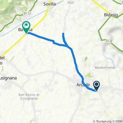 Da Via Roma 113, Arcade a Via Aldo Moro, Nervesa della Battaglia