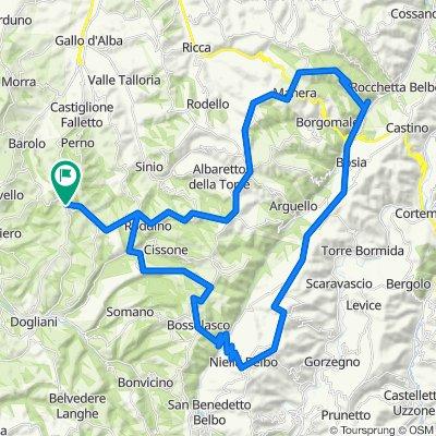 Giorno 6 - Alta Langa - 72 km