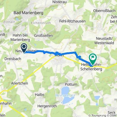 Grube-Victoria-Straße 2, Höhn nach Bornstück 7, Hellenhahn-Schellenberg