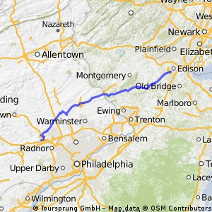 New Brunswick to Valley Forge 09/07