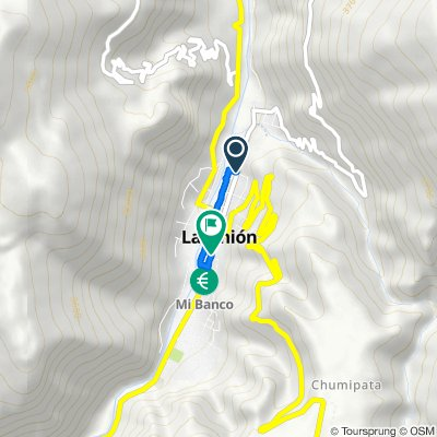 Moderate route in