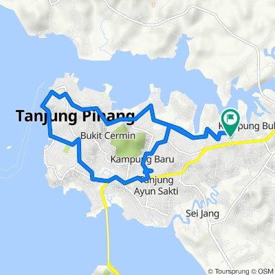 Unnamed Road, Kecamatan Tanjungpinang Timur to Unnamed Road, Kecamatan Tanjungpinang Timur