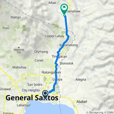 Unnamed Road, General Santos City to Malungon - Tupi Provincial Road 9503