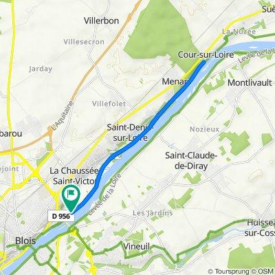 De Levée des Tuileries, La Chaussée-Saint-Victor à Levée des Tuileries, La Chaussée-Saint-Victor