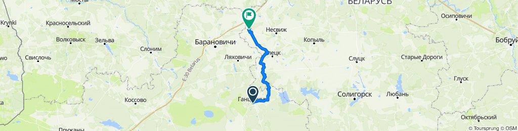 Ганцевичи-Хвоево