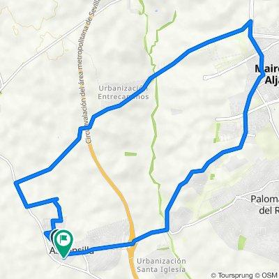 De Calle de Majalcofar, 25, Almensilla a Calle del Aire, 29, Almensilla