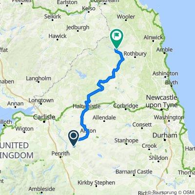 Pt8 North Penines to Northumberland