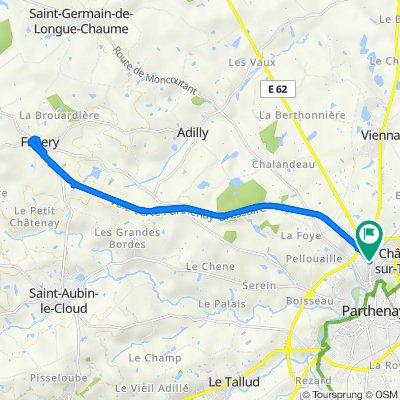 De Avenue de la Morinière 41, Châtillon-sur-Thouet à Avenue de la Morinière 41, Châtillon-sur-Thouet