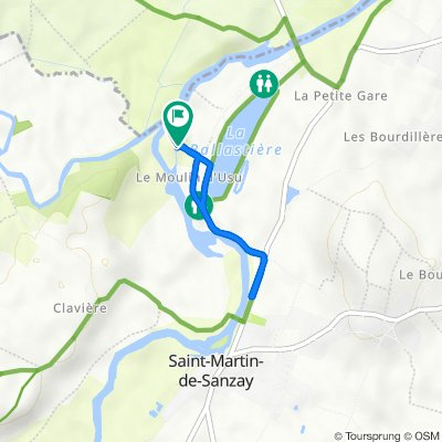 De 4 Impasse d'Usu, Saint-Martin-de-Sanzay à 4 Impasse d'Usu, Saint-Martin-de-Sanzay