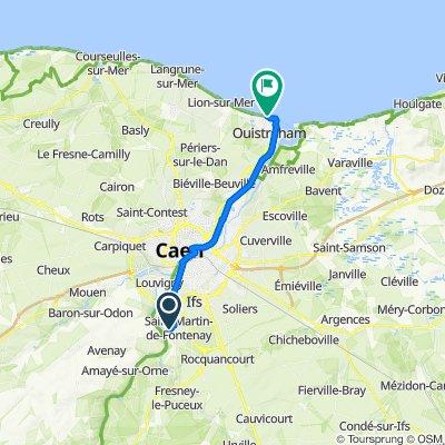 Itinéraire à partir de 17 Rue de Stockholm, Saint-André-sur-Orne