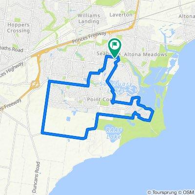 16 Gundowring Drive, Seabrook to 16 Gundowring Drive, Seabrook