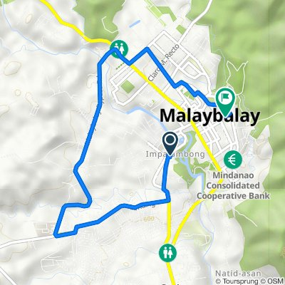 Route to Old Provincial Hospital Bulding, Malaybalay