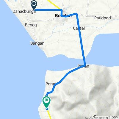 Korokoy Road, Botolan to Olongapo - Bugallon Road, Botolan