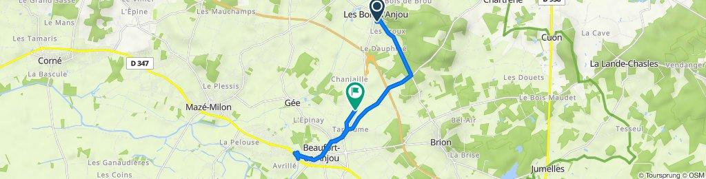 De Rue des Pêchers 6, Fontaine-Guérin à Le Bertin, Beaufort-en-Vallée