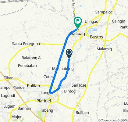 Calle Rizal, Baliuag to Quirino Highway, Baliuag