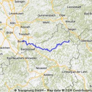 vom Rhein auf den Hohen Westerwald