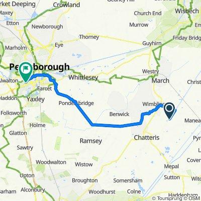 Honey Farm Cottage, 16 Foot Bank, March to 84 Blackmead, Peterborough