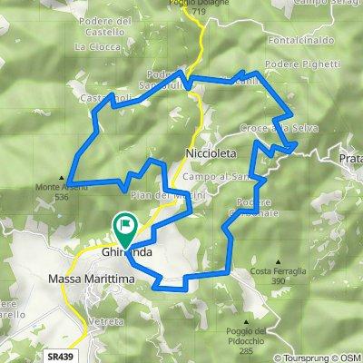 13 - MTB - Cross Country - Niccioleta Tour - Blue/Black