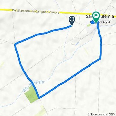 De Camino de Villamayor de Campos, Santa Eufemia del Arroyo a Calle del Norte, 1, Santa Eufemia del Arroyo