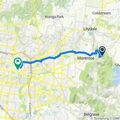 64 Inverness Road, Kalorama to 164 Rooks Road, Nunawading