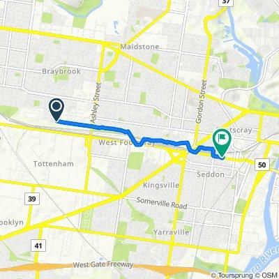 Ruby Way 59A, Braybrook to Buckley Street 84-88, Footscray