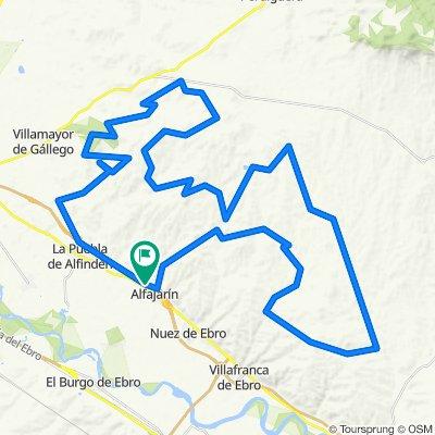 De Calle Valle de Broto 10, Alfajarín a Calle Valle de Broto 104, Alfajarín