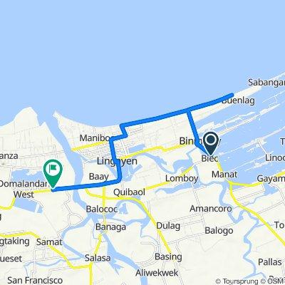 Biec East Road 117, Binmaley to Domalandan East, Lingayen